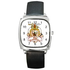 Past Potentate Square Metal Watch by vsmasonictees