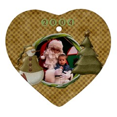 Logan2004 2006 By Mel Perrault   Heart Ornament (two Sides)   A0pzr6tefj5q   Www Artscow Com Back