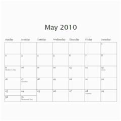 2010 Calendar By Madeleine   Wall Calendar 11  X 8 5  (12 Months)   Vzcjcyq8fqcm   Www Artscow Com May 2010