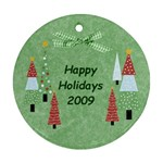 2009 Ornament - Round Ornament (Two Sides)