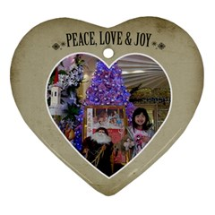 Ornament Chery By Charlie Berry   Heart Ornament (two Sides)   P6l4vp9sk25h   Www Artscow Com Front