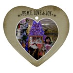 Ornament Chery - Heart Ornament (Two Sides)