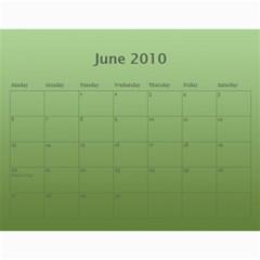 My Calendar 2010 By Carmensita   Wall Calendar 11  X 8 5  (12 Months)   Prdehgxktvqg   Www Artscow Com Jun 2010