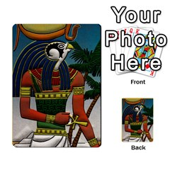 Pharaohs & Scribes Deck 1 By Matthew Marquand   Multi Purpose Cards (rectangle)   G8kckrp49yso   Www Artscow Com Back 48