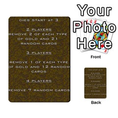 Pharaohs & Scribes Deck 2 By Matthew Marquand   Multi Purpose Cards (rectangle)   Qoeax0458iv6   Www Artscow Com Front 35
