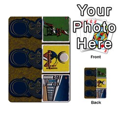 Pharaohs & Scribes Deck 2 By Matthew Marquand   Multi Purpose Cards (rectangle)   Qoeax0458iv6   Www Artscow Com Front 40