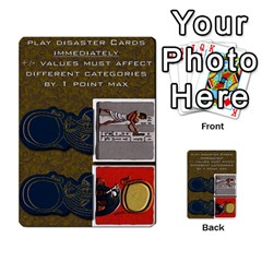 Pharaohs & Scribes Deck 2 By Matthew Marquand   Multi Purpose Cards (rectangle)   Qoeax0458iv6   Www Artscow Com Front 41