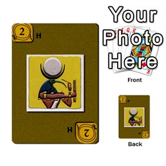 Pharaohs & Scribes Deck 2 By Matthew Marquand   Multi Purpose Cards (rectangle)   Qoeax0458iv6   Www Artscow Com Front 46