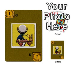 Pharaohs & Scribes Deck 2 By Matthew Marquand   Multi Purpose Cards (rectangle)   Qoeax0458iv6   Www Artscow Com Front 47