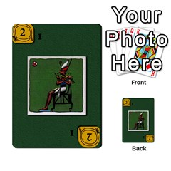Pharaohs & Scribes Deck 2 By Matthew Marquand   Multi Purpose Cards (rectangle)   Qoeax0458iv6   Www Artscow Com Front 48