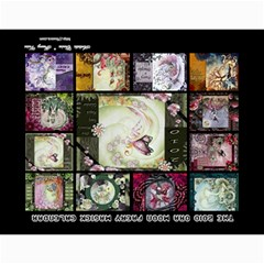 2010 Calendar By Ora Moon   Wall Calendar 11  X 8 5  (12 Months)   Lkmjfiv4js68   Www Artscow Com Last Logo Page
