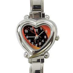 Watch Face Heart Italian Charm Watch by Personalizedclocks