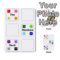 Rainbow Deck 1 By Changcai   Playing Cards 54 Designs   J06701e5y3sn   Www Artscow Com Back