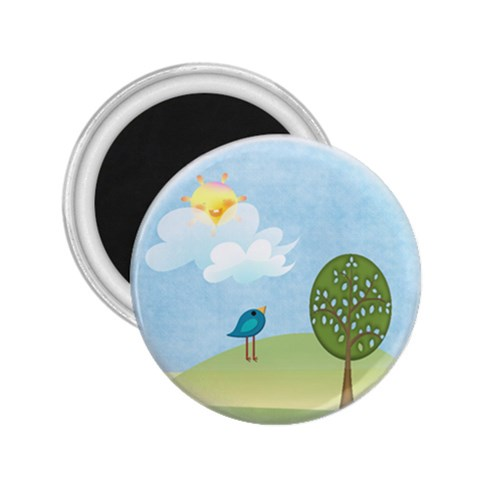 Sunny Day By Brookieadkins Yahoo Com   2 25  Magnet   J8zo3twdze0r   Www Artscow Com Front