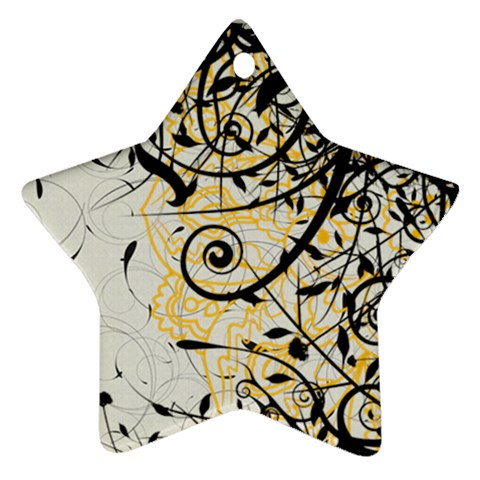 Star2 By Laurac   Ornament (star)   W9h7131ek9rw   Www Artscow Com Front