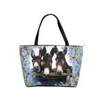 Three donks Classic Shoulder Handbag - Blue