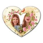 love - Heart Mousepad