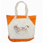 Leaping donkey Accent Tote Bag