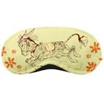 Leaping donkey Sleeping Mask