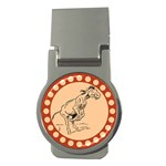 Naughty donkey Money Clip (Round)