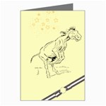 Naughty donkey Greeting Card