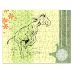 Naughty donkey Jigsaw Puzzle (Rectangular)