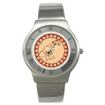 Naughty donkey Stainless Steel Watch