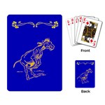 Naughty donkey Playing Cards Single Design