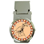 Naughty donkey Money Clip Watch