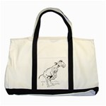 Naughty donkey Two Tone Tote Bag