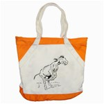 Naughty donkey Accent Tote Bag
