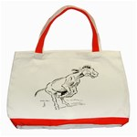 Naughty donkey Classic Tote Bag (Red)