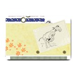 Naughty donkey Small Doormat