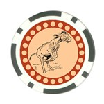 Naughty donkey Poker Chip Card Guard