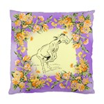 Naughty donkey Cushion Case (One Side)
