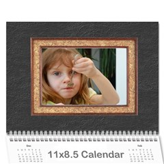 Calendar By Wood Johnson   Wall Calendar 11  X 8 5  (12 Months)   Ejzt871uavan   Www Artscow Com Cover
