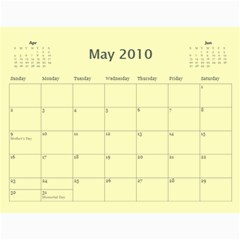 Calendar Yosemite 2010 18 Month By Karl Bralich   Wall Calendar 11  X 8 5  (12 Months)   Dnxbjvizapyq   Www Artscow Com May 2010