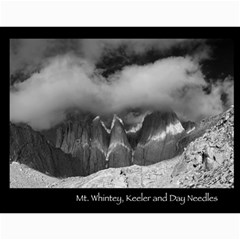 B&w Calendar Yosemite And More  2010 12 Month By Karl Bralich   Wall Calendar 11  X 8 5  (12 Months)   1pxkh1pzoeu8   Www Artscow Com Month