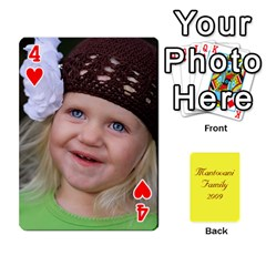 Mamma222 By Jennifer Dunn   Playing Cards 54 Designs   Emrjsv87vpjt   Www Artscow Com Front - Heart4