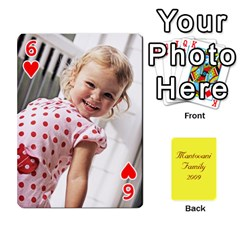 Mamma222 By Jennifer Dunn   Playing Cards 54 Designs   Emrjsv87vpjt   Www Artscow Com Front - Heart6