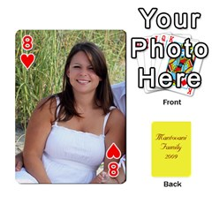 Mamma222 By Jennifer Dunn   Playing Cards 54 Designs   Emrjsv87vpjt   Www Artscow Com Front - Heart8