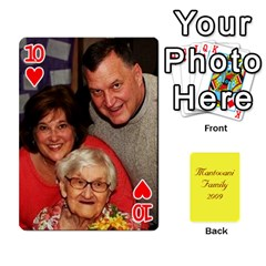 Mamma222 By Jennifer Dunn   Playing Cards 54 Designs   Emrjsv87vpjt   Www Artscow Com Front - Heart10