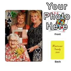 Ace Mamma222 By Jennifer Dunn   Playing Cards 54 Designs   Emrjsv87vpjt   Www Artscow Com Front - ClubA
