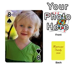 Mamma222 By Jennifer Dunn   Playing Cards 54 Designs   Emrjsv87vpjt   Www Artscow Com Front - Spade8