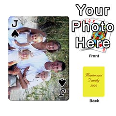 Jack Mamma222 By Jennifer Dunn   Playing Cards 54 Designs   Emrjsv87vpjt   Www Artscow Com Front - SpadeJ
