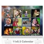 grandma09 - Wall Calendar 11  x 8.5  (18 Months)