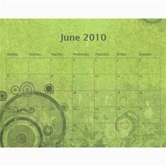Grandma09 By Nicki   Wall Calendar 11  X 8 5  (18 Months)   Qygv4awcxtx7   Www Artscow Com Jun 2010
