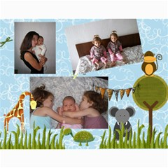 Elena Callendar By Maria Maslarova   Wall Calendar 11  X 8 5  (12 Months)   90bfnew443kr   Www Artscow Com Month