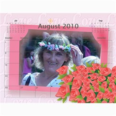 Calendar 2010 By Olena Aug 2010