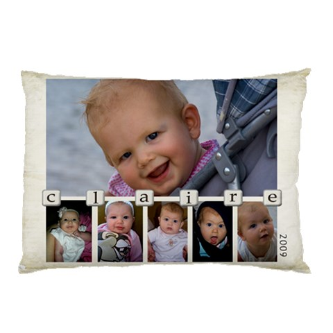 Claire Pllowcase By Pam Prater   Pillow Case   Wdcj7c741gv9   Www Artscow Com 26.62 x18.9 Pillow Case
